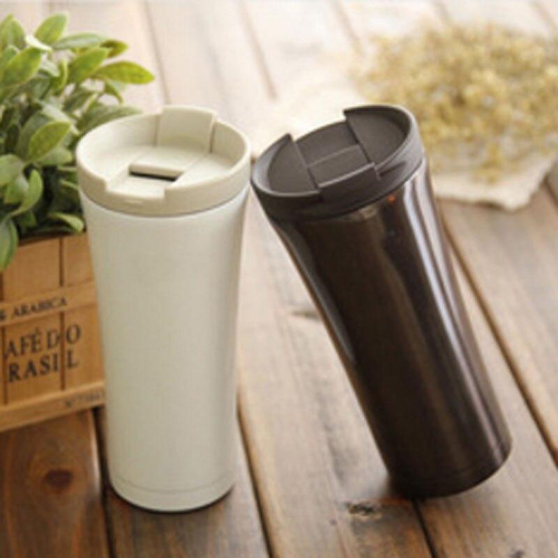 الفولاذ المقاوم للصدأ القهوة الترمس كوب ترمو 500 مللي الحرارية البهلوانات ترمو القهوة كأس الغرافة Termica 500 مللي الغرافة Termica الترمس