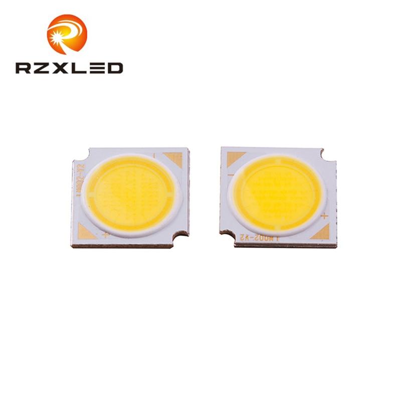 50 pièces/lot led blanc chaud naturel 36-42V 350ma 12W COB 14*14MM Module lampe
