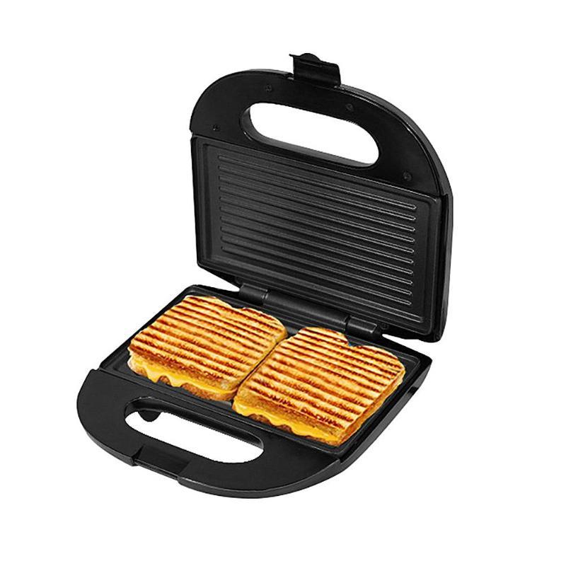 Electric Egg Sandwich Maker Panini plate Waffle toaster Grilling  Non-Stick Breakfast Machine EU Plug