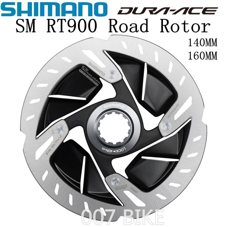 SHIMANO DURA ACE R9100 SM RT900 Rotor 140mm 160mm bicicletas de carretera Rotor RT900 R9120 R9170 Rotor de freno de disco de bloqueo central