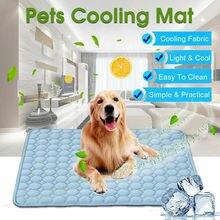2019 Nieuwste Hot Zomer Huisdieren Honden Kat Cooling Gel Mat Bed Heat Relief Niet Giftig Kussen Pad Blauw 5