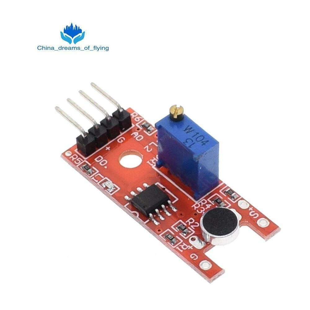 Micrófono TZT, módulo de Sensor de sonido por voz para Arduino, sensores de salida Digital analógica KY-038