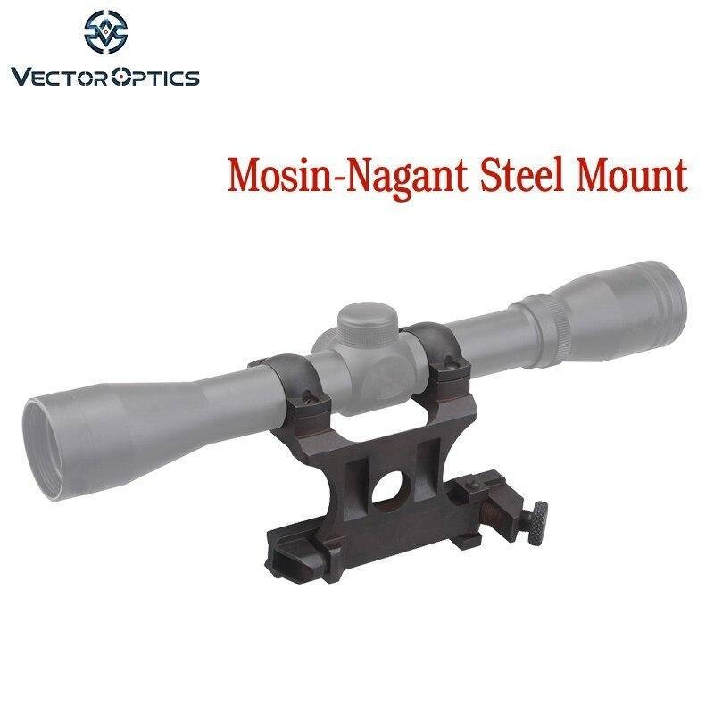 Vector Optics 25,4mm mosin-nagant montaje lateral de acero para Riflescope de 1 pulgada