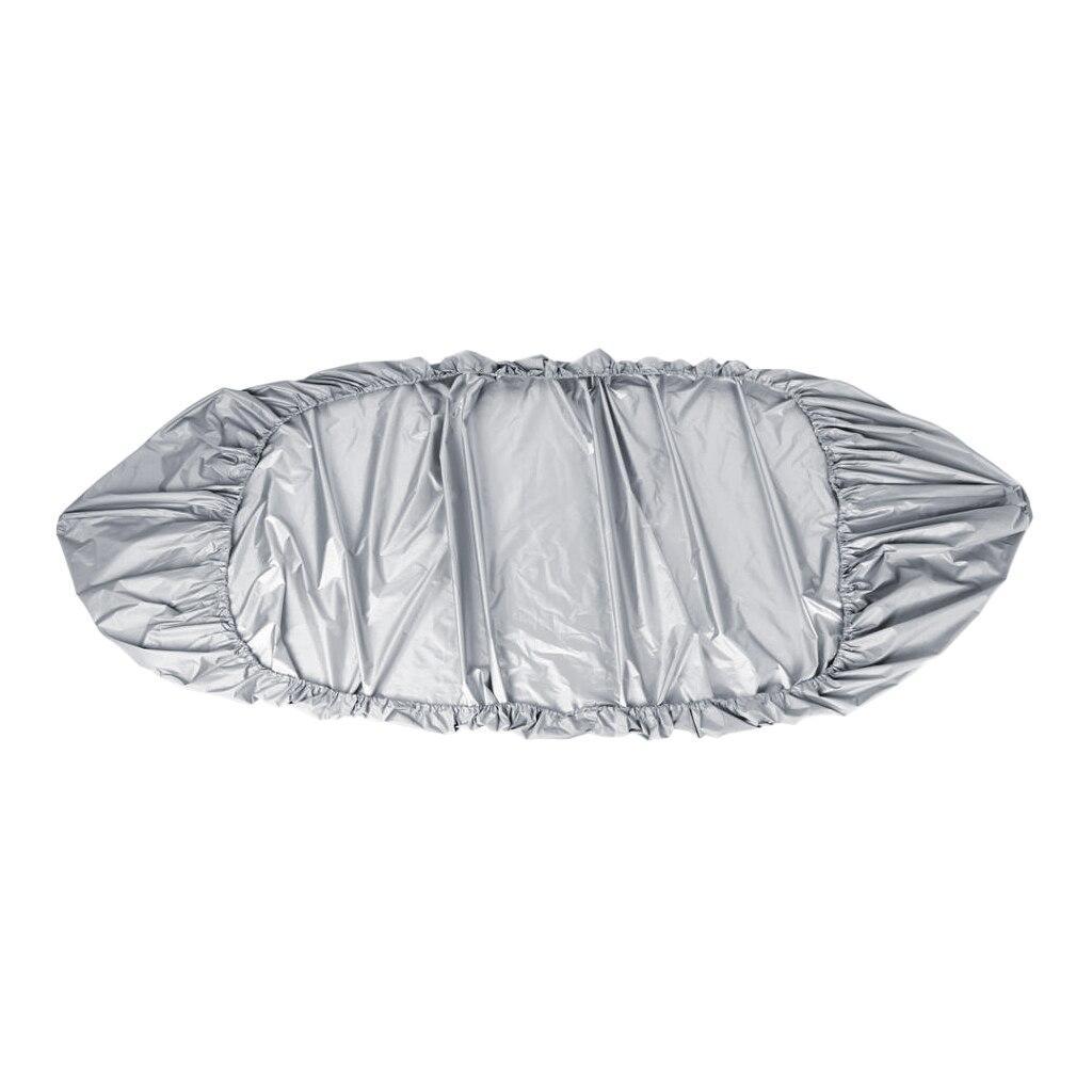 Perfeclan Deluxe impermeable Anti-UV gris Oxford tela tapa para Kayak bolsa para transporte/almacenamiento tapa para Kayak 420x130cm
