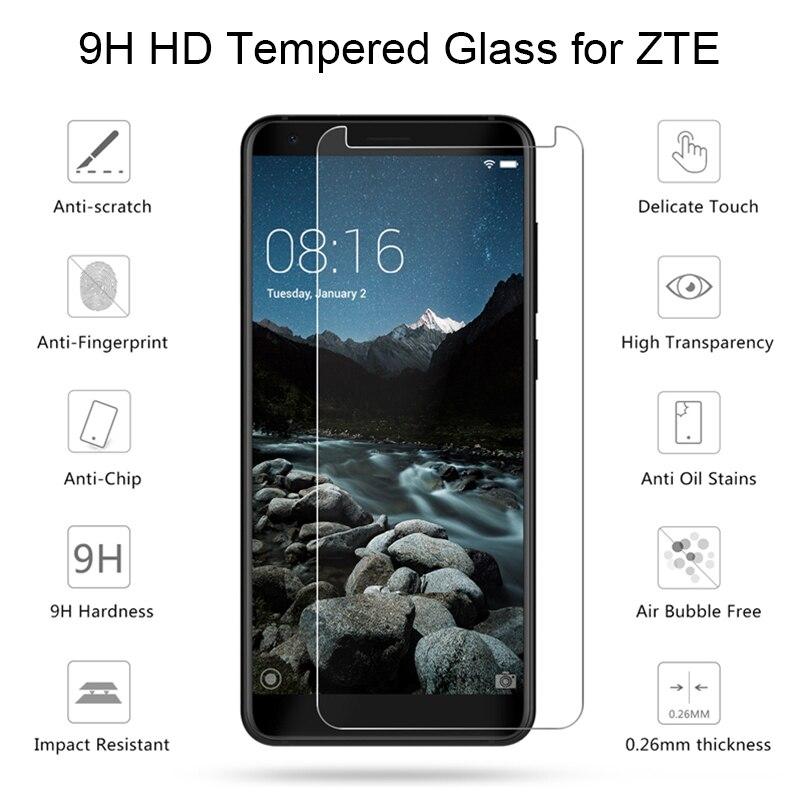 Front Screen Glas Voor Zte Blade V9 Vita Axon 9Pro L4 V8 Pro Mini V987 Gehard Glas Voor Zte Nubia X N3 Z18 Mini Toughed Glas