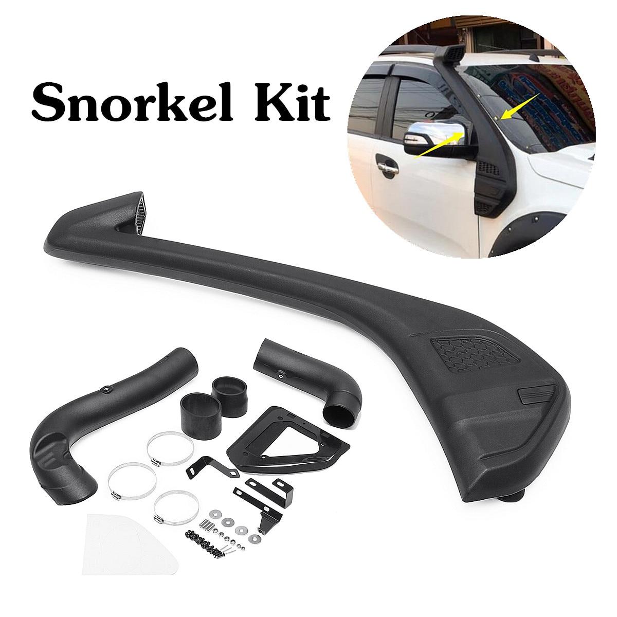 Diesel-kit conjunto para 2013 ford-ranger t6 wildtrak 110x30cm polietileno preto resistente uv linear