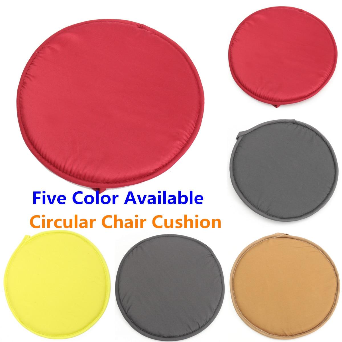 30cm redondo Circular silla con funda extraíble almohadillas de asiento para Bistro lazo en la cocina comedor hogar