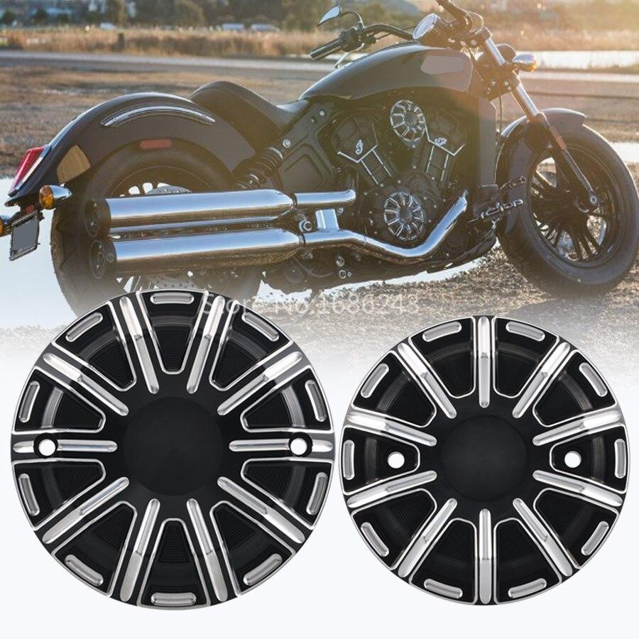 Cabezas de cilindro portadas para motocicleta tapa de depósito de líquido de frenos cubierta de embrague para Indian, Scout Bobber Sixty 2015-2018