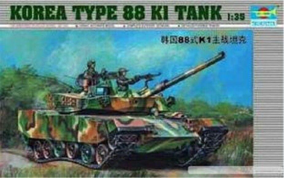 Trompetista 00343 1/35 Corea tipo 88 K1 MBT