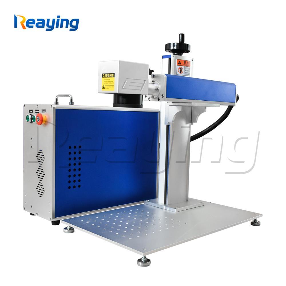 Reaying máquina de marcado láser de fibra de metal 20W 30W 50W Raycus máquina de grabado por láser