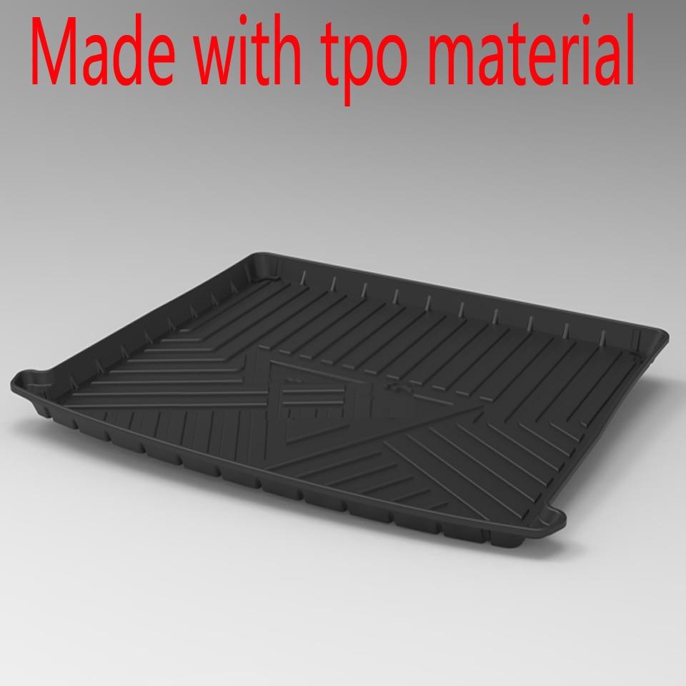 Tapete de maletero de coche impermeable antideslizante para TERAMONT/TIGUAN/TAYRON/THARU/T-ROC/TOURAN L/SAGITAR/POLO/C-TPEK