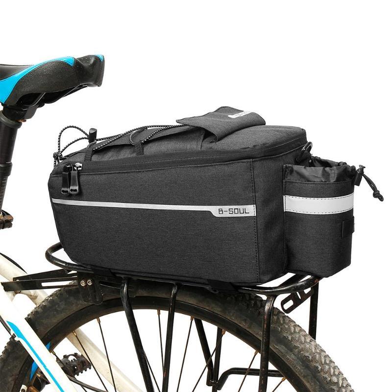 Saco da bicicleta Da Bicicleta Pannier Rack de Volta Pacote de Saco de Cauda Banco Traseiro Tronco Portador Prateleira Utility Bolso bolso bicicleta Equipamento de Equitação