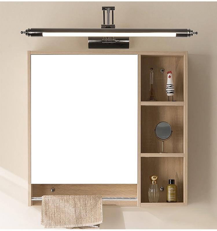 European mirror headlight bathroom led mirror light retractable wall lamp bathroom sink lamp makeup lamp wall sconces CL0420