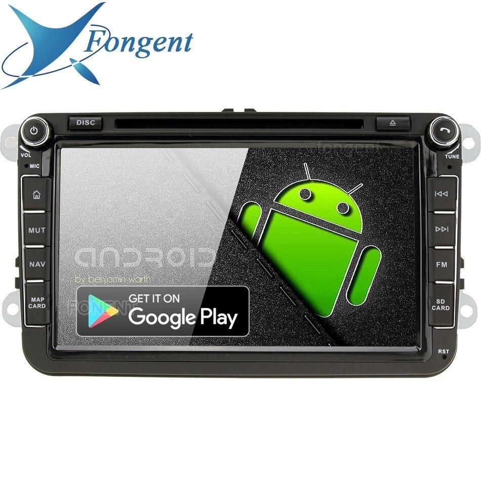 Android 9,0 unidad para Passat B6 B7 Jetta Caddy Tiguan Golf Polo Skoda Fabia Skoda Superb coche DVD GPS radio estéreo reproductor Multimedia PX6
