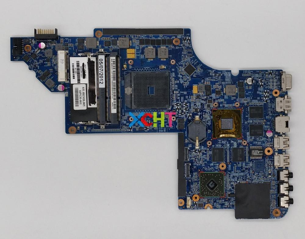 Placa base para ordenador portátil, placa base probada, 665284 HD6750-001/1G A70M para HP Pavilion DV6-6B serie DV6-6C DV6Z-6B00