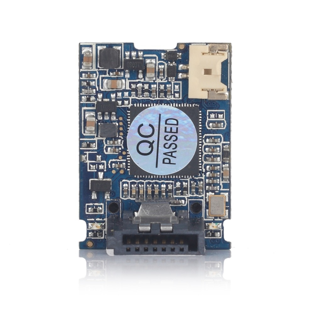 Envío Gratis Goldendisk SATA DOM 4GB disco en Módulo 8GB 16GB 32GB DOM SSD MINI Vertical 7PIN SATA II NAND MLC Flash Control SMI