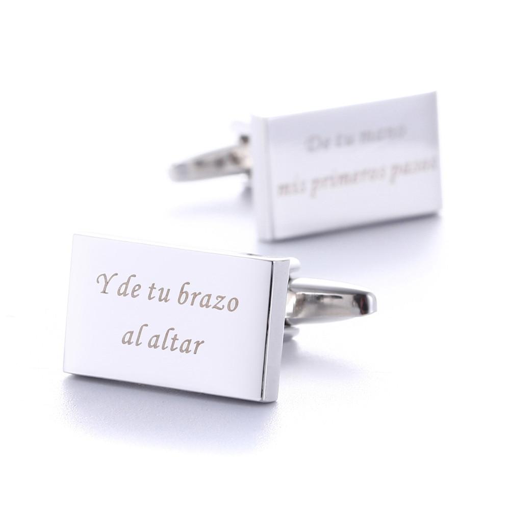 Запонки-под-заказ-свадебные-подарки-персонализированные-зеркальные-серебряные-индивидуальные-мужские-драгоценные-украшения-с-именем