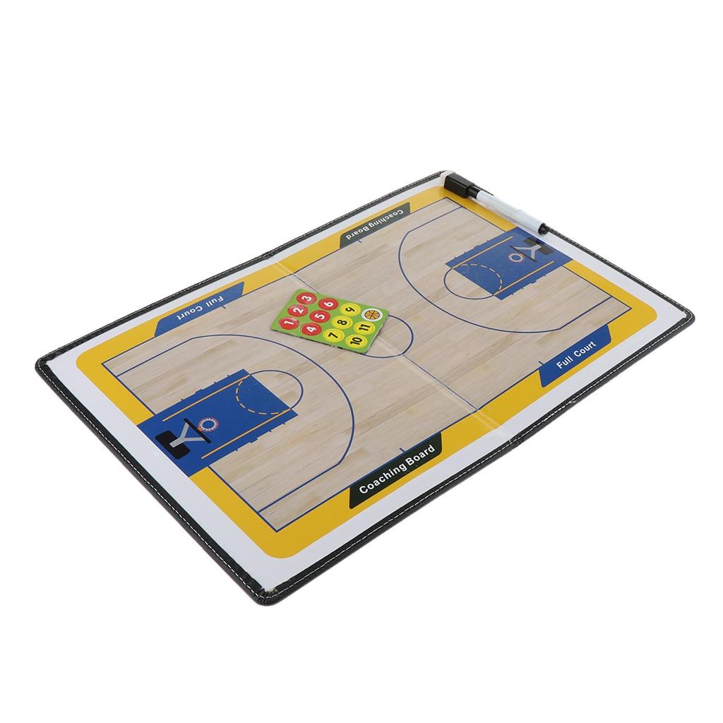 Магнитный стратегия Баскетбол Панели прочный Баскетбол буфер обмена Складная баскетбольная учебный маркер платы