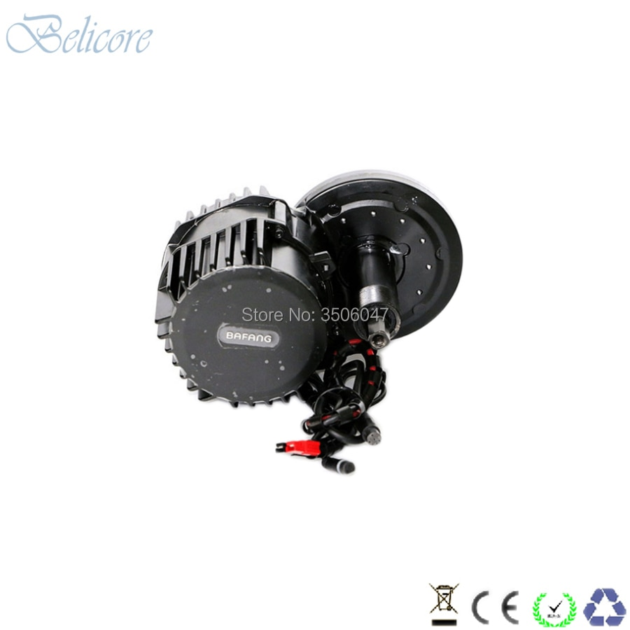 BB 100mm BB 120mm BB 68mm Bafang BBS02 36V 48V 500W 8Fun mid drive motor kits with C965 850C display