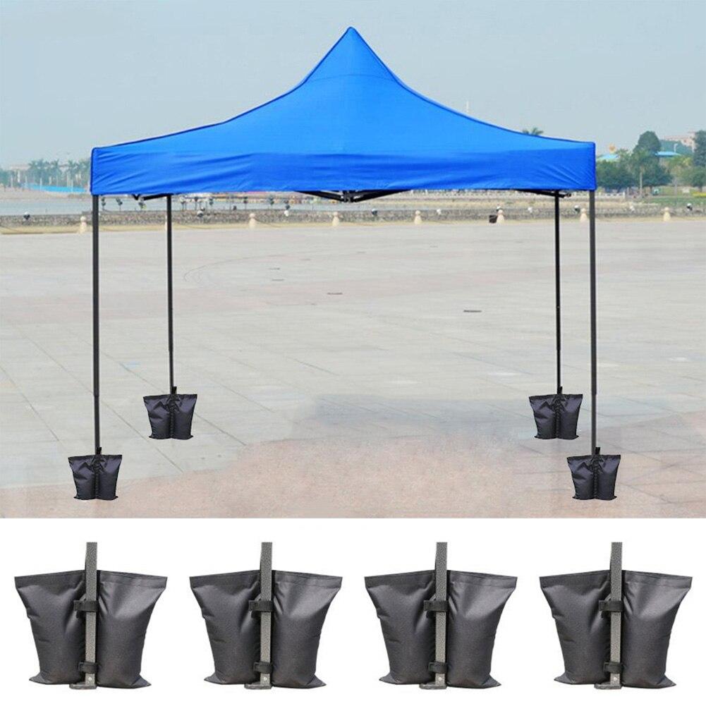 4 Uds impermeable fijación Oxford toldo soporte de tienda al aire libre acampada paraguas instantáneo pies sol refugio ponderado arena bolsa titular