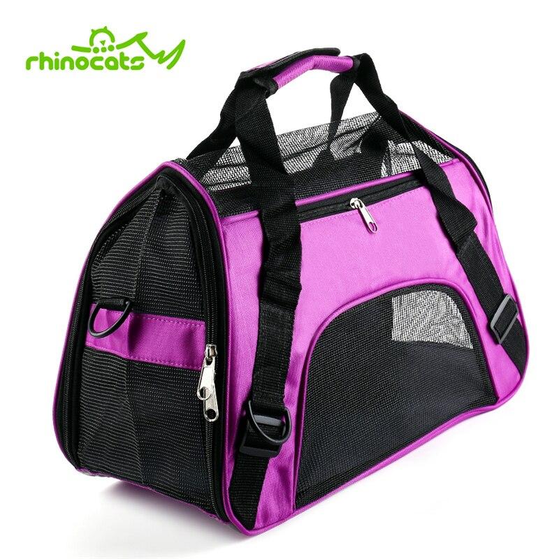 Bolsa portabebés para mascotas, portátil, transpirable, para viajes al aire libre, bolsa de transporte, mochila, bolso de mano para gatos pequeños, animales