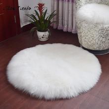 Мягкий ковер из овечьей кожи, покрытие для стула, искусственная шерсть, теплый пушистый ковер, коврик для спальни, коврик для сидения, коврик из кожи и меха, теплый искусственный ковер 23