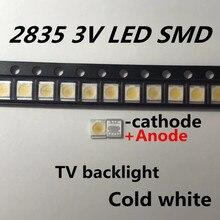 200 pièces séoul haute puissance LED rétro-éclairage 1210 3528 2835 1W 100LM blanc froid SBWVT121E rétro-éclairé écran LCD pour les Applications de télévision