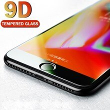 9D Protective Glass For IPhone 6 6S 7 8 Plus Glass On For Iphone 7 6 8 X XR XS MAX Full Screen Prote