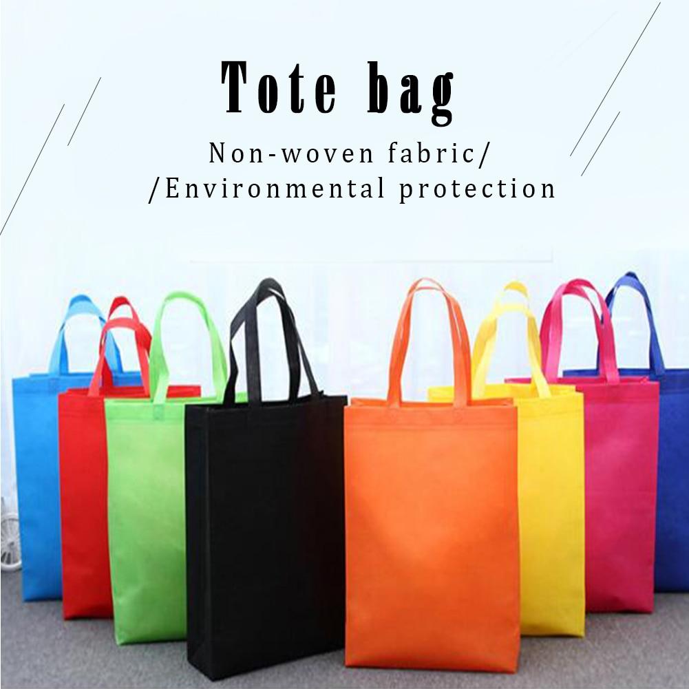 Многоразовая сумка для покупок, Большая складная сумка для покупок, удобная сумка для хранения, конфетный цвет, эко-сумки для покупок, синий ...