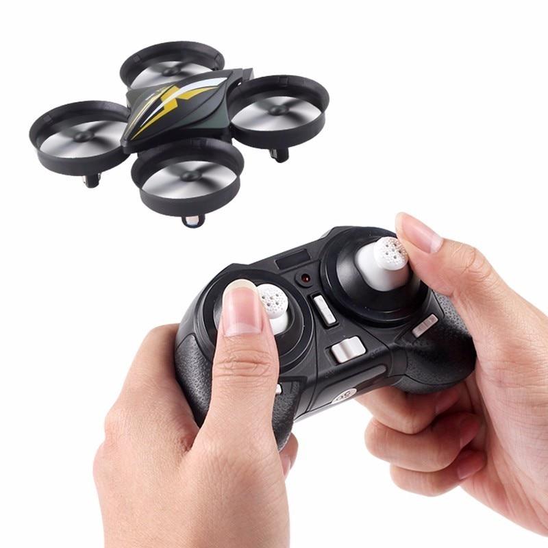 Mini Drone RC Quadcopter cuadcóptero de control remoto helicóptero RC 2,4G 6 eje drones Gyro con el modo sin cabeza del H36 E010 Dron