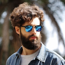 Vintage Classic Retro Half Metal Sunglasses Men Women Brand Designer Eye Glasses Mirror Sun Glasses