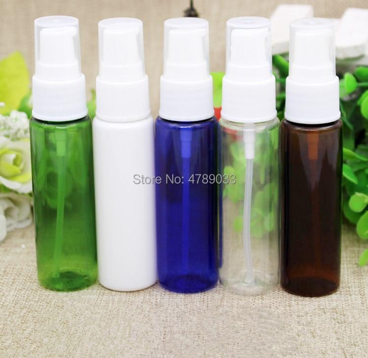 20/30/50 piezas 30 ml botella de plástico vacía botellas de almacenamiento para viajes Sub botella de champú de la loción cosmética envase de la botella de la loción