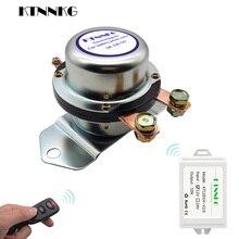 12 V Voiture Camion Batterie Interrupteur À Distance 180A Déconnexion Verrouillage Relais Électromagnétique Électrovanne Terminal Contrôle Gadgets