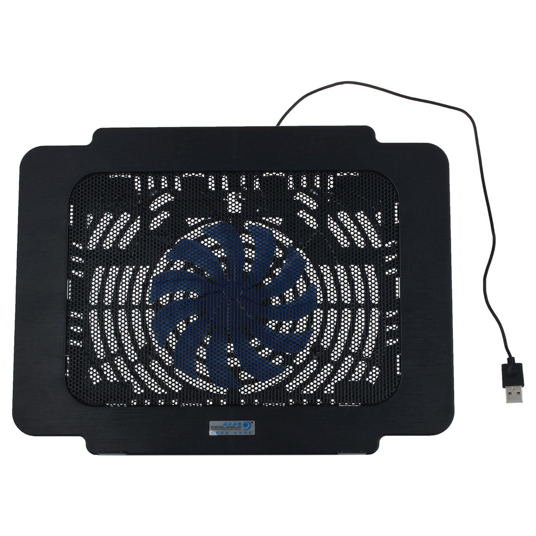 CoolCold Laptop Ventilador de Arrefecimento Pad Notebook Radiador USB Super Ultra Fino-preto