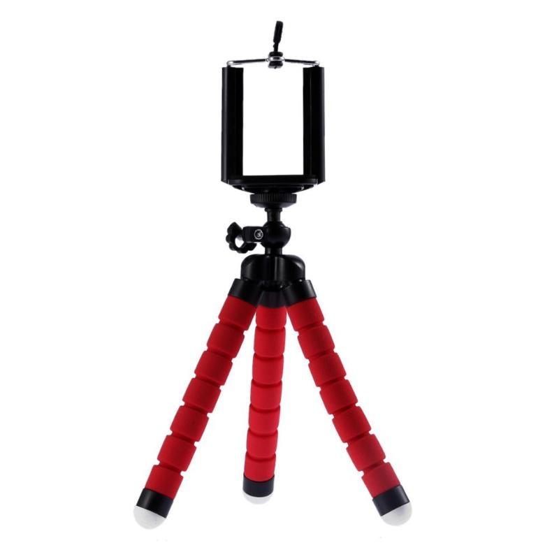 Mini Flexible Sponge Camera Tripod Portable Phone Camera Holder Bracket 175x50x50mm for...