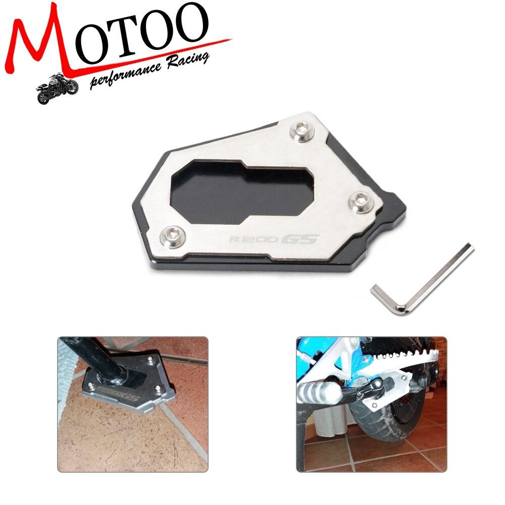 Extensión de montaje lateral de soporte de motocicleta para BMW R 1200 GS LC R1200GS R1250GS R 1200GS ADV Adventure 2014 -2018
