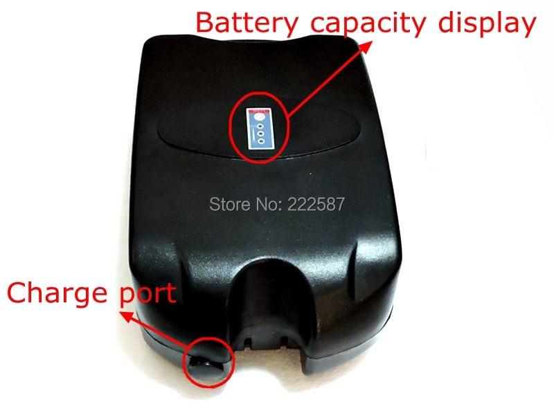 SWORDS FOX 36 V 20AH batterie de vélo électrique ebike Li-ion batterie pour ebike avec F rog cas pour 36 V 500 W Bafang moteur livraison gratuite