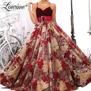 Arabic Prom Dresses With Belt Robe De Soiree Wedding Party Gowns Pageant Evening Dress 2019 Abendkleider Formal Women Dresses