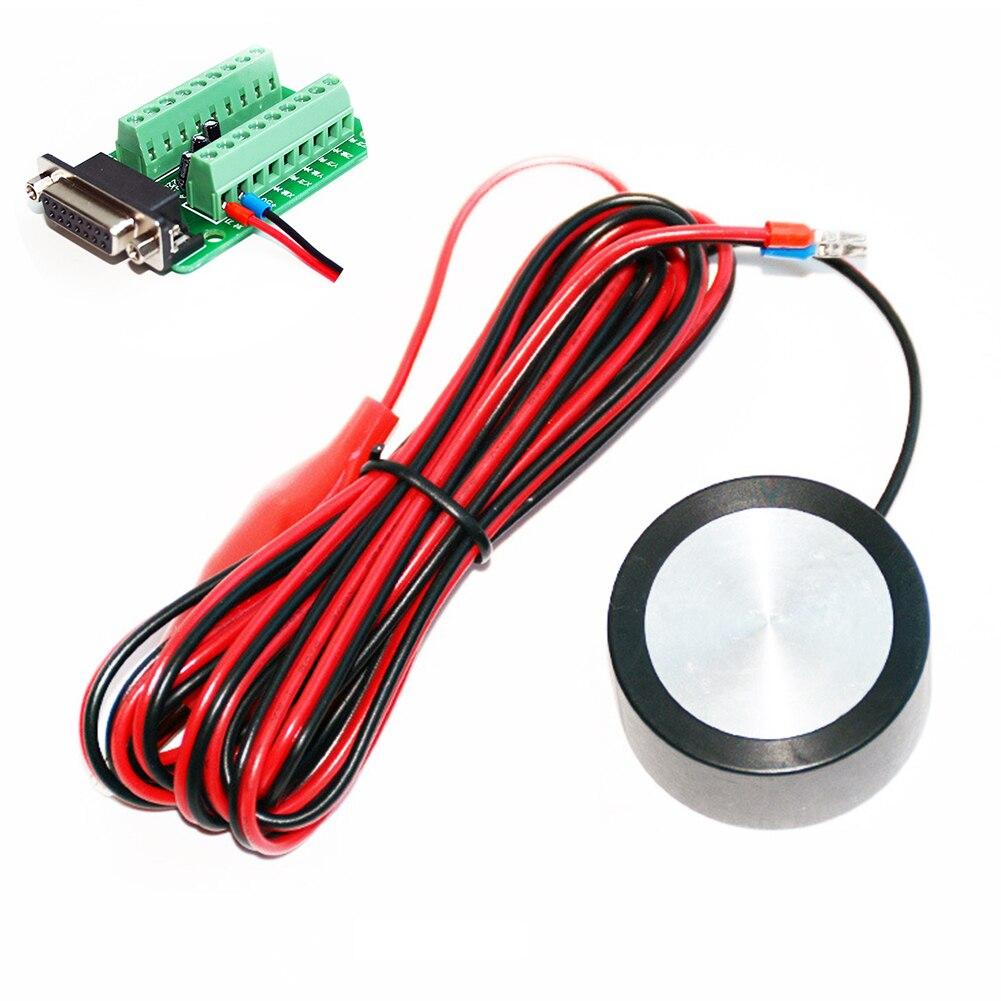 Набор фрезерный станок Высокоточный ЧПУ деревообрабатывающий DIY Z Axis с нулевой проверкой практический инструмент трогательная пластина гравировальный станок инструмент