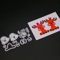 scd1219 metal cutting dies for scrapbooking stencils deer scrapbook cut diy album cards decoration embossing folder die cut cuts