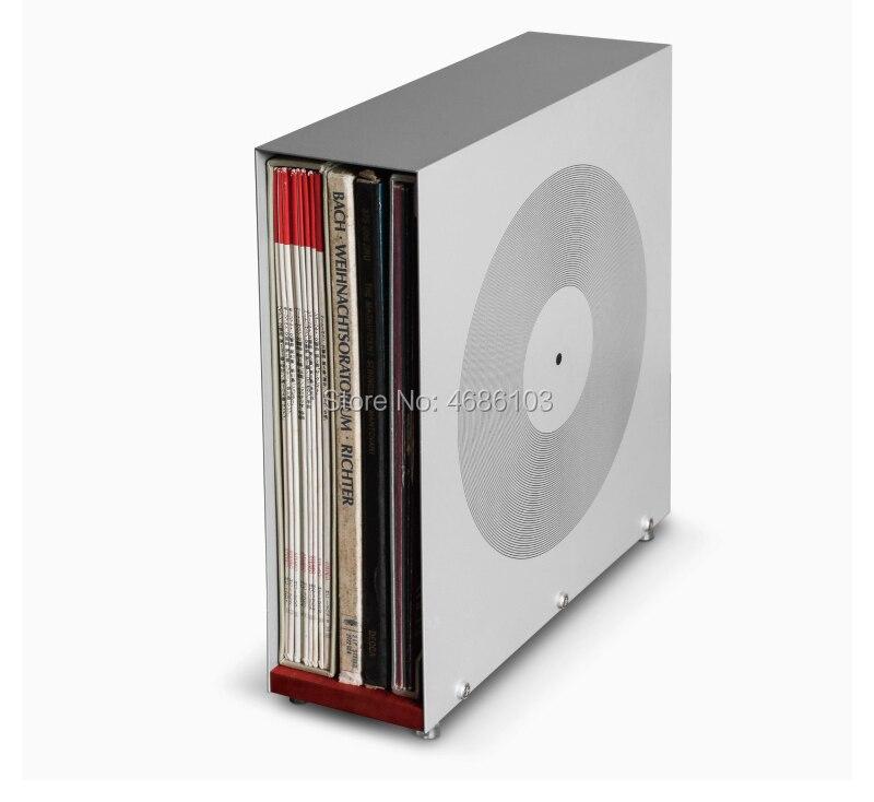 رمادي مكعب cd مربع رمادي ساحة المطاط الأسود سجل الرف مربع ، CD القرص الرف ، خاص LP الأسود المطاط سجل الرف ل Graphophone