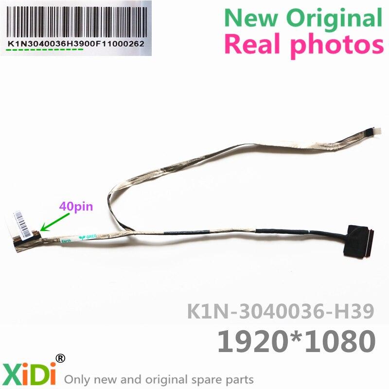 Nuevo MS16J1 K1N-3040036-H39 LCD CABLE para MSI GE62 CABLE LVDS de LCD 40PIN 1920*1080