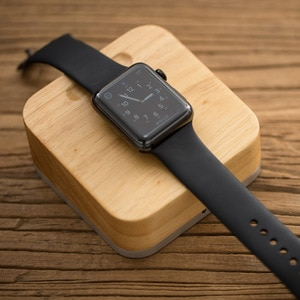 For Apple Watch Charger Wooden Charging Dock Station For Apple Watch Series 1 2 3 iWatch Holder
