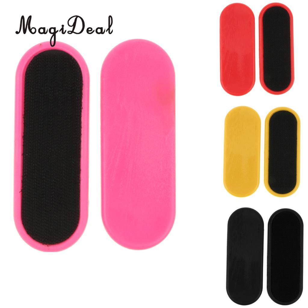 2 uds bloques deslizantes de repuesto palmeras para monopatín Longboard guantes deslizantes manos palma protección equipo al aire libre