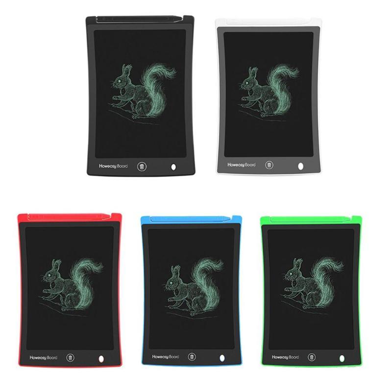 8.5 Polegada lcd escrita tablet digital desenho tablet almofadas de escrita portátil eletrônico gráfico tablet placa com botão apagar