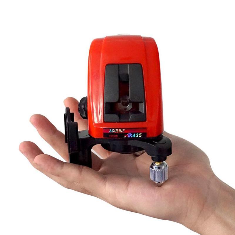 Laser Level 2 Line 1 Laser 635nm Slash Function Vertical Horizontal EU Self Leveling Cross Lazer Level Diagnostic Tools