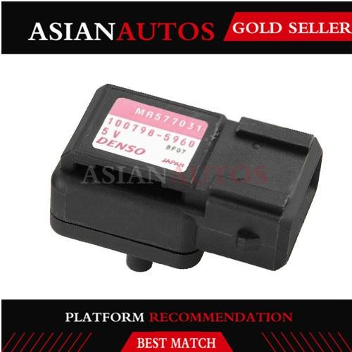 ¡OE! MR577031 100798-5960 presión de entrada Sensor Map se adapta para Mitsubishi Shogun DI-D elegancia LWB 3,2 de 2007 a 9486209