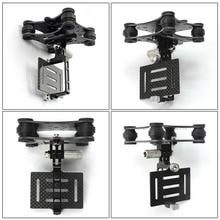 Carbon Fiber Camera Gimbal Mount FPV Shockproof Damping PTZ for DJI Phantom Drone Quadcopter Multicopter for Gopro Hero 3 3+ 4