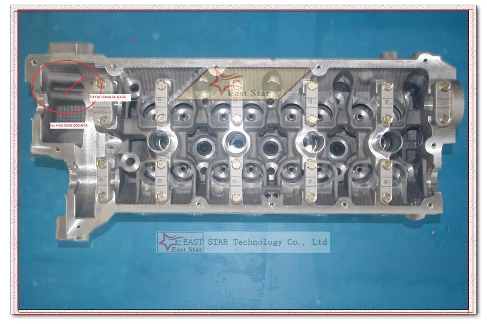 G4GC cabeza de cilindro para Hyundai Elantra Tucson Sonata para Kia Spectra Cerato Sportage Carens II 1975cc 2.0L 16v 22100-23740 de 23760