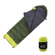 Camping en plein air voyage sac de couchage hiver chaud Joint fendu mains bras libre sac de couchage épaissi coton lit de couchage paresseux sac
